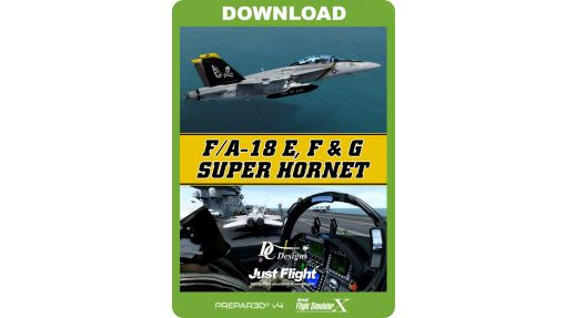 DC Designs-JustFlight F/A-18E,F & G Super Hornet