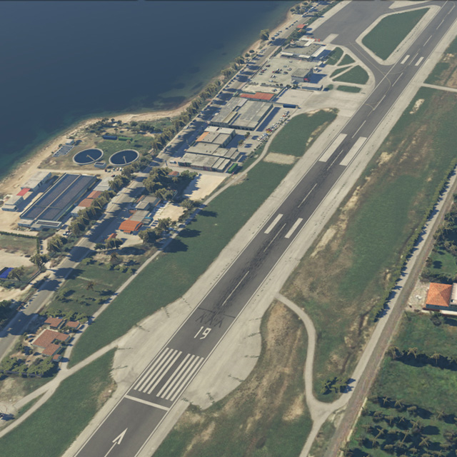 Simworks Studios Chios Airport - xplane11 - Flight Simulator Software
