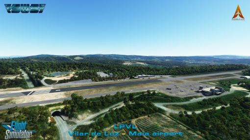 Maia - Vilar de Luz airport for MSFS